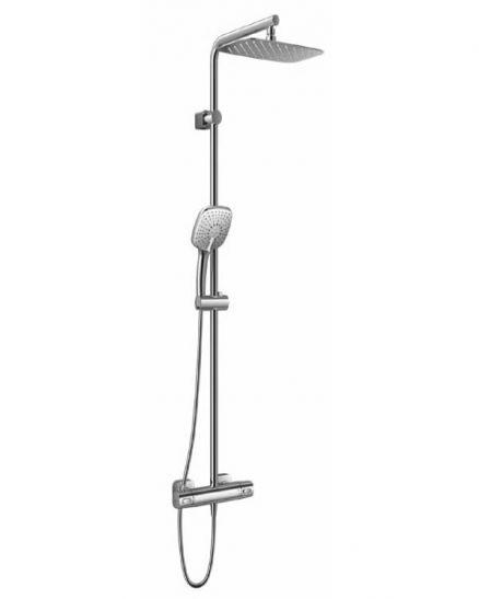 Душ система със стенен смесител и термостат - Ideal Standard