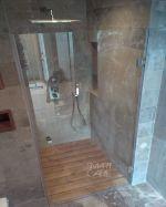 отваряем душ параван 75х190см