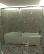 Плъзгащ параван за вана по поръчка