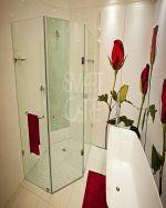 Петоъгълна душ кабина по индивидуален размер
