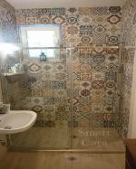 Плъзгащ паравн Style в шарена баня