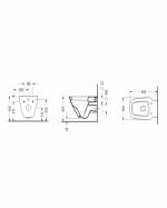 Конзолна тоалетна чиния - серия RENATA