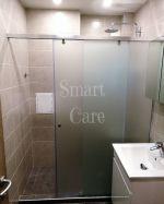 Преграда за баня с плъзгаща врата - 145 см.