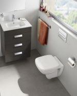 Окачена тоалетна чиния - Roca Debba капак с плавно падане
