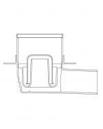 Подов сифон модел quadric