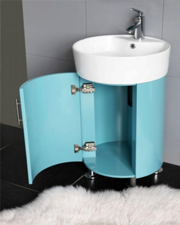 Овален шкаф за баня - ICP045B