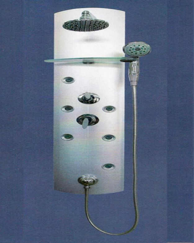 Алуминиев хидромасажен панел