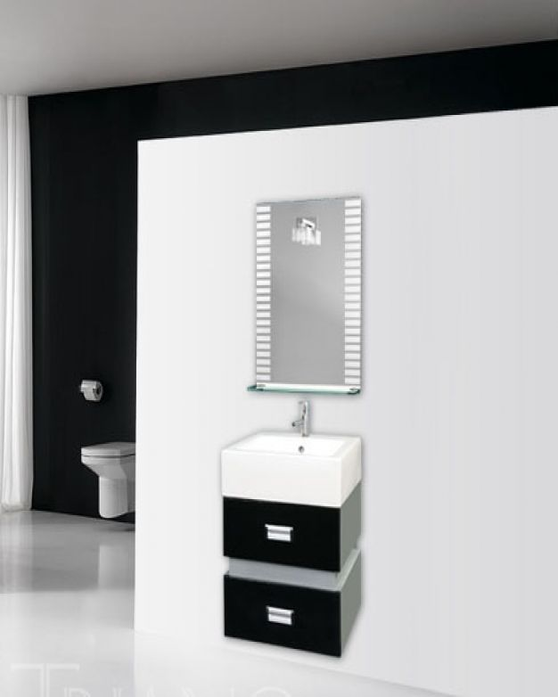 Шкаф за баня Геометрия