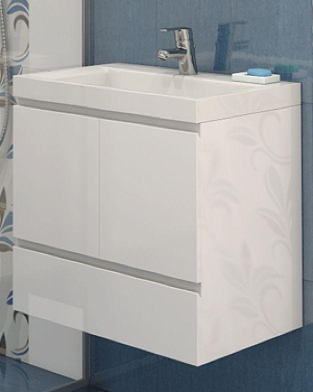 Шкаф за баня с мивка Парис