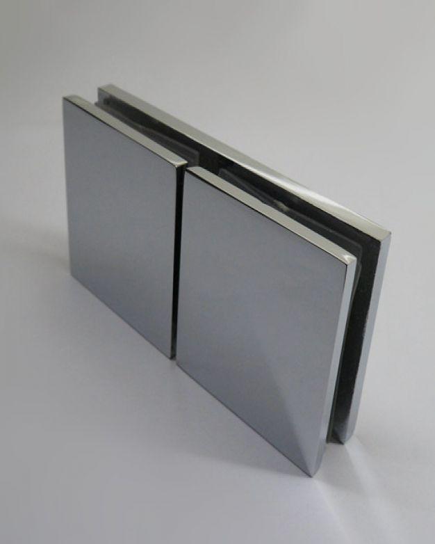 фиксатор стъкло/стъкло 180°