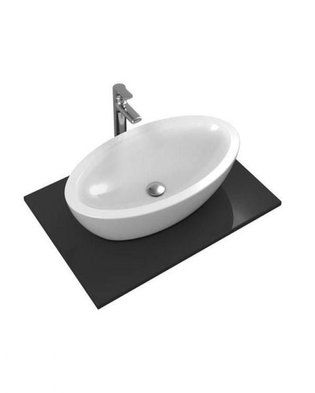 Овална мивка за монтаж върху плот - Strada О 75х43см