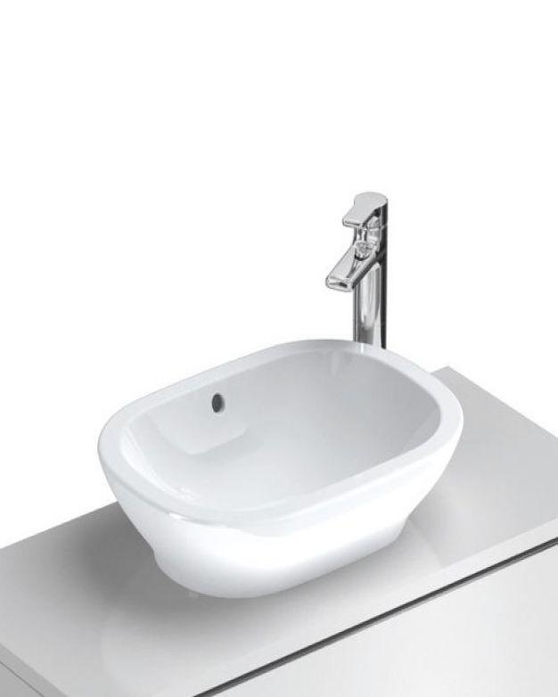 Овална мивка за монтаж върху плот - Active 55 см