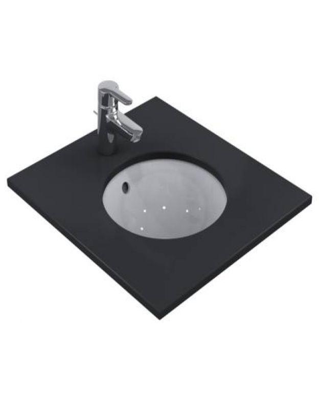 Кръгла мивка под плот - Connect 38см