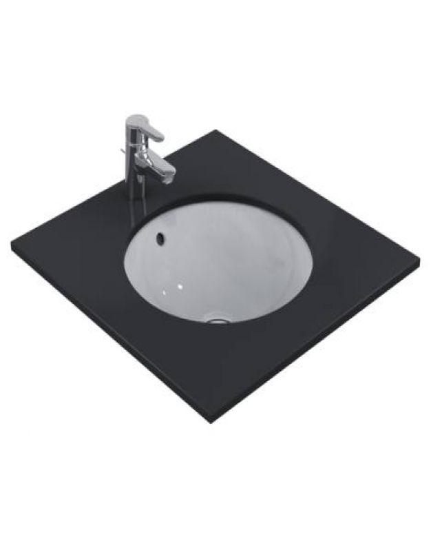 Кръгла мивка под плот - Connect 48см