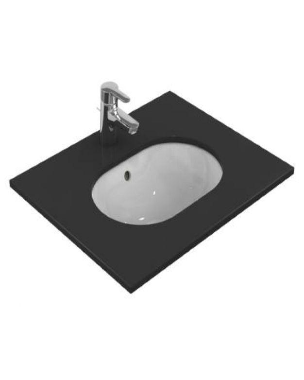 Овална мивка за вграждане - Connect 50х38см