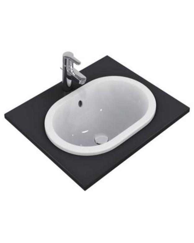 Овална мивка за вграждане - Connect 55x38см