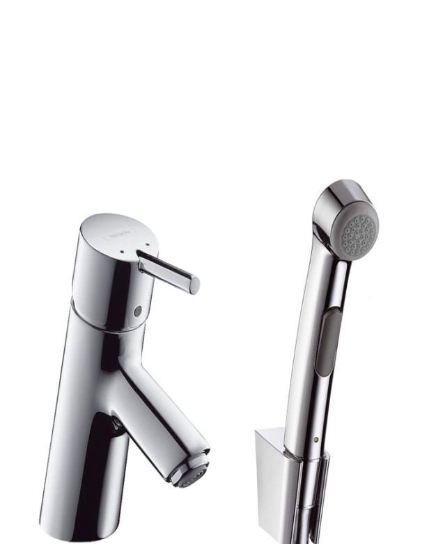 Смесител за мивка с подвижен душ Hansgrohe Talis S