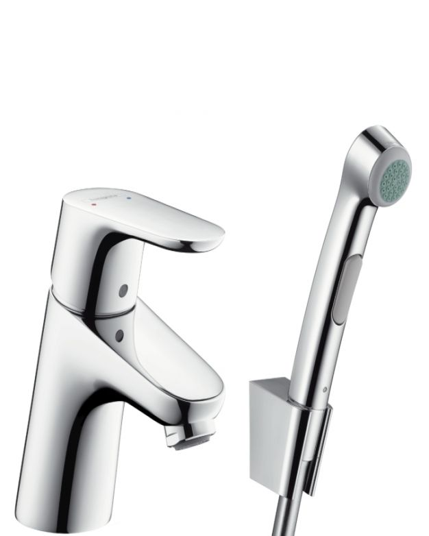 Смесител за мивка с подвижен душ Hansgrohe Focus 70