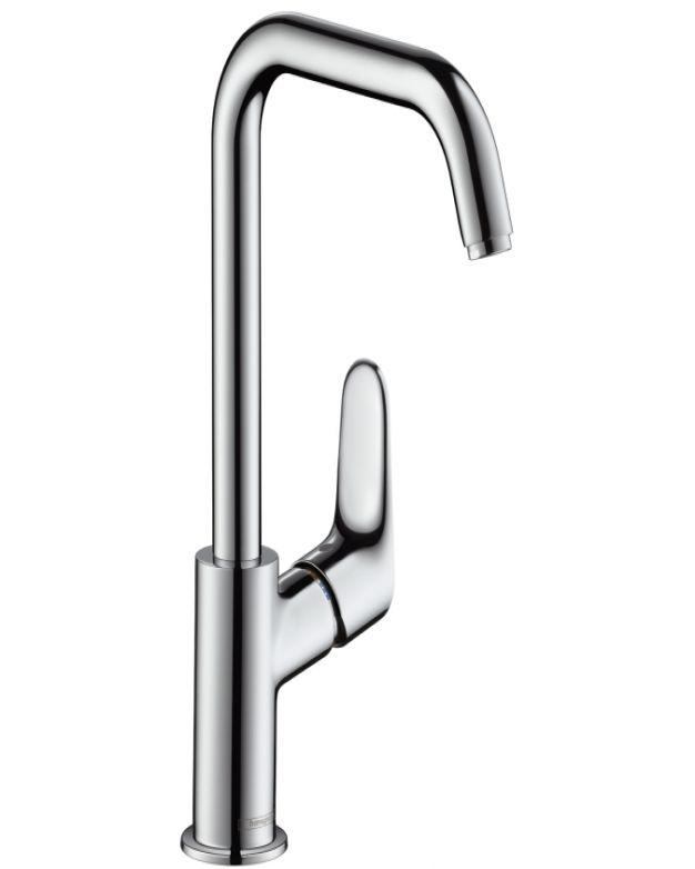 Смесител за мивка висок Hansgrohe Focus 240 без изпразнител