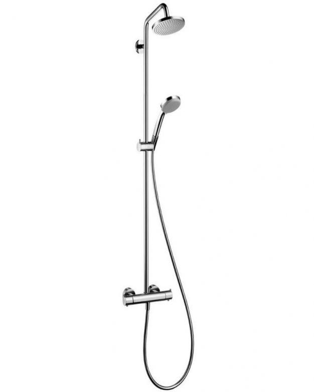 Душ система с термостатен смесител Hansgrohe Croma 160