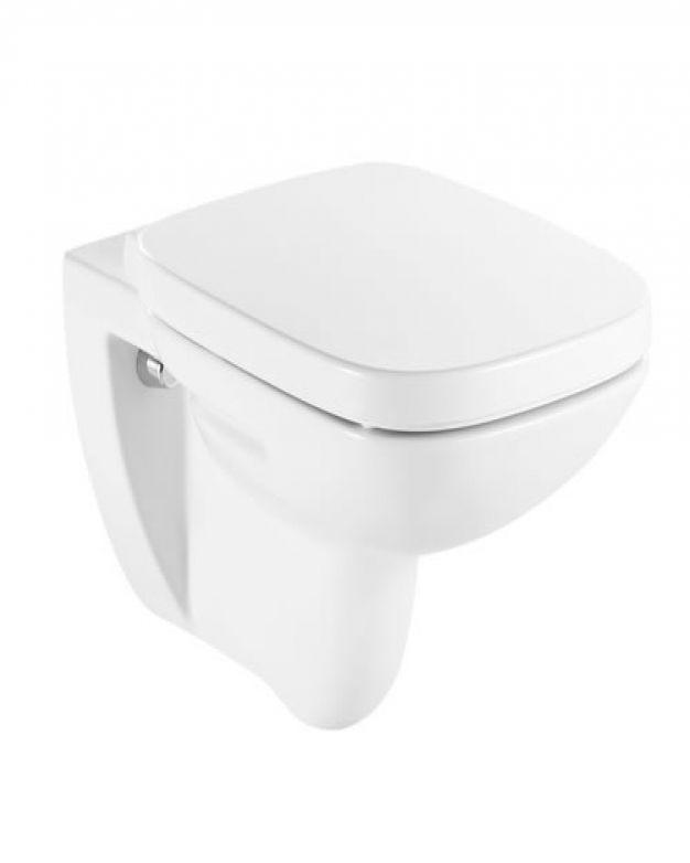 Окачена тоалетна чиния - Roca Debba обикновен капак