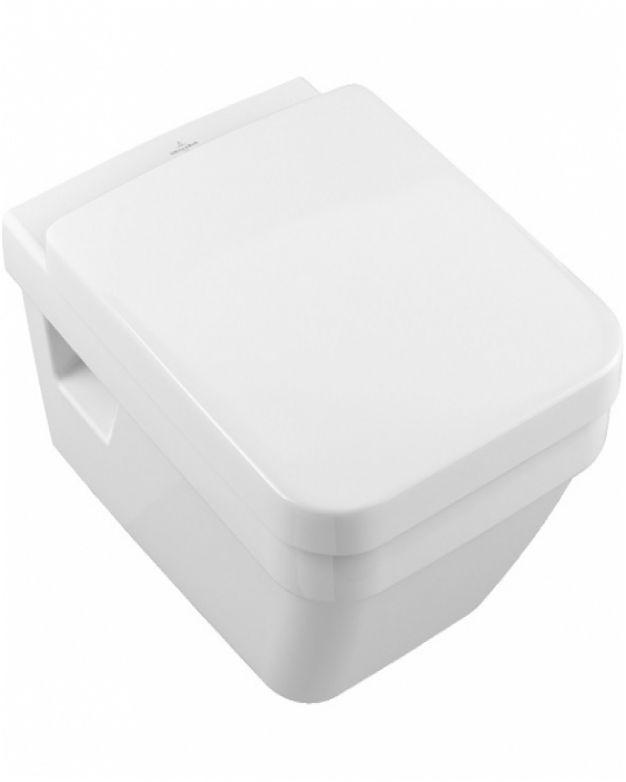 Конзолна квадратна тоалетна чиния - Villeroy & Boch - серия Arch