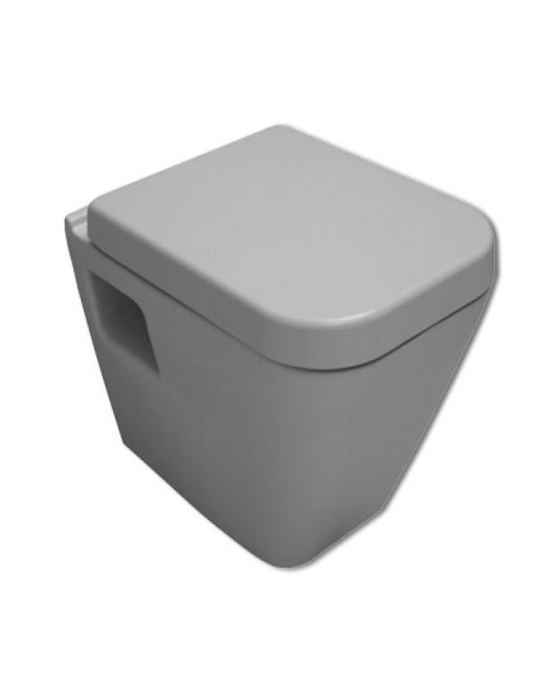 Конзолна тоалетна чиния Diagonal с дъска забавено падане