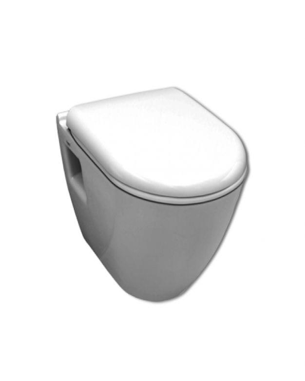 Конзолна тоалетна чиния - серия SMART 48см с вградено биде