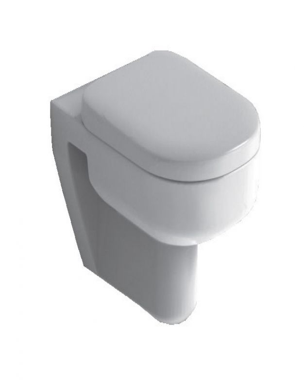 Конзолна тоалетна чиния - серия Playa 55см с плавно спускане