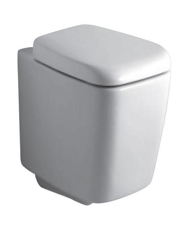 Конзолна тоалетна чиния Ideal Standard Ventuno с плавно падане