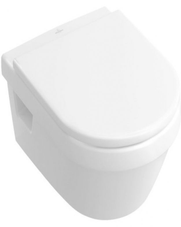 Окачена овална тоалетна V&B - серия Omnia Architectura 53см