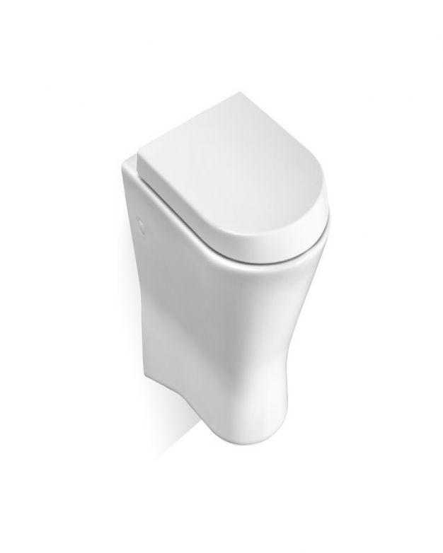 Окачена тоалетна чиния ROCA Nexo 53см с капак забавено падане