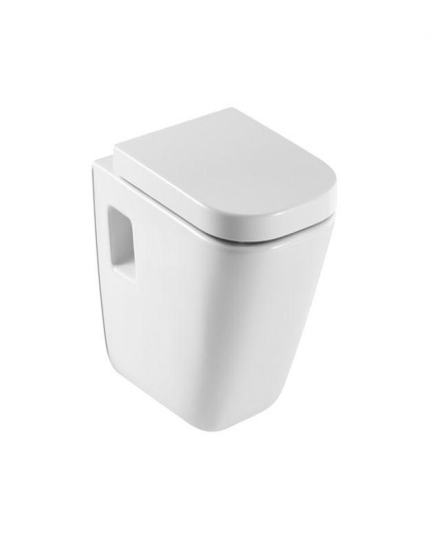 Конзолна тоалетна чиния Roca The Gap 54см капак забавено падане