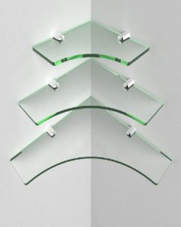 Нестандартни стъклени рафтове