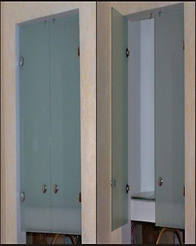 Стъклени вратички на шкаф