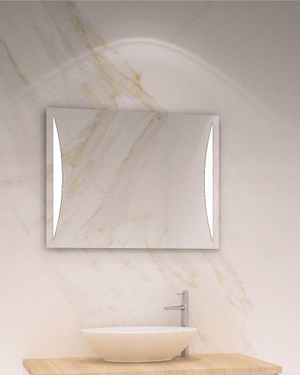 правоъгълно огледало с ЛЕД осветление