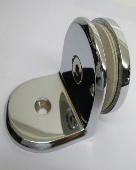 фиксатор стена/стъкло кръгъл дизайн