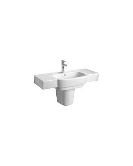 Mебелна правоъгълна мивка с преливник - серия Varius