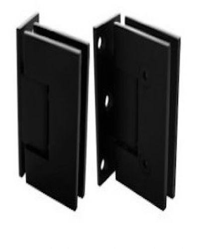 панта стена-стъкло черен мат